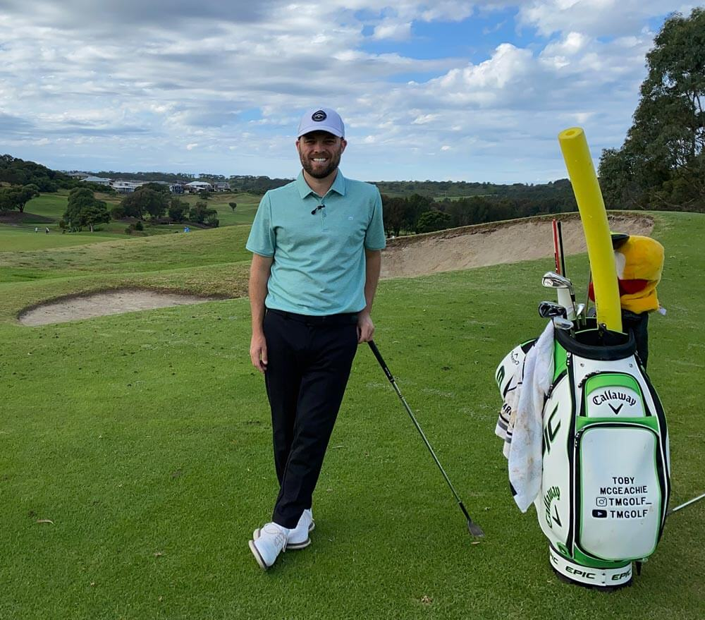 Toby McGeachie, PGA Professional Coach in Illawarra